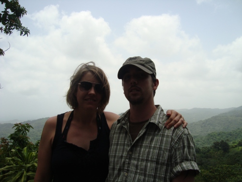 Me and Dennis in El Yunque